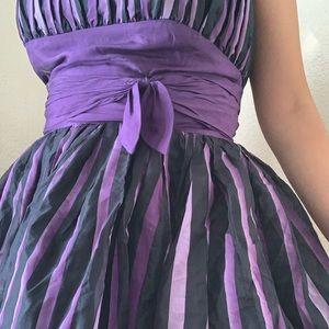 Betsy's Johnson purple ombré dress